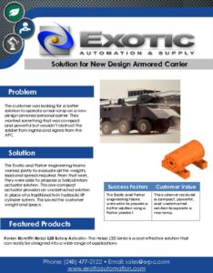 thumbnail of Solution for New Design Armored Carrier Case Study