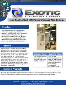 thumbnail of Transair Pipe System Case Study